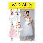 McCall's 7615 Sewing Pattern to MAKE Romantic Lyrical Ballet Tutu Stage Costumes