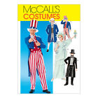 McCall's 6143 Costume Sewing Pattern: Tailcoat Breeches Frock Coat Hat Liberty