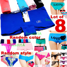 Внешний вид - 8 Women Panties Bikini Lingerie Underwear Body Shaper Boyshorts Cotton Shapewear