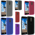 For LG Stylo 4 TPU CANDY Hard Gel Flexi Skin Case Phone Cover Accessory