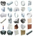 """6"""" 150MM Plastic Round Ducting Ventilation and Accessories Tube Pipe Fittings"""