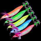 "5-20pc 2# Squid Jigs Fishing Lure 5 Color fishing tackle 10""/8.1g Fishing Bait"