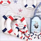 Lifebuoy Life Ring Nautical Life Preserver Boat Wall Hanging Home Decoration