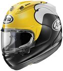 Arai Corsair-X KR-1 Full Face Motorcycle Helmet Yellow Adult All Sizes