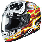 ghost rider 2 motorcycle - HJC Adult FG-17 Ghost Rider Street Motorcycle Helmet XS-2XL