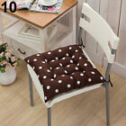 Soft Polka Dot Solid Seat Pad Travel Home Office Decor Tie On Chair Cushion Hot
