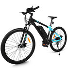 """24 Speed 27.5""""Electric Bike Mountain Bike + Front and rear disc brakes"""