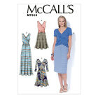 McCall's 7319 Paper Sewing Pattern to MAKE Stretch Crossover Pullover Dresses