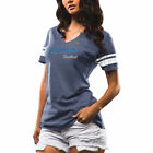 Los Angeles Chargers Majestic Women's Game Tradition Tri-Blend V-Neck T-Shirt - $29.99 USD on eBay