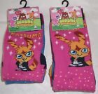 Girls Moshi Monsters 3 Pk Socks Uk Shoe Size 6-8.5 9-12  New