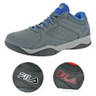 Fila Mens Bank Casual Lace Up Low Top Court Basketball Athletic Shoes