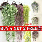 Artificial Fake Hanging Flower Vine Plant Home Garden Decoration Indoor Outdoor