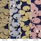 """5/16"""" Round Stamping Blanks with Hole Round Disk Metal Blanks 10pcs 102271"""
