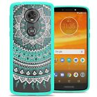 For Motorola Moto E5 Plus / Moto E5 Supra Case Hard Back Bumper Slim Cover