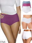Playtex Pure Cotton P00BQ Cherish Maxi 3 Pack Brief Knickers Underwear