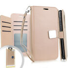 For LG K30 Premium Flip Out Pocket Wallet Case Pouch Phone Cover Accessory