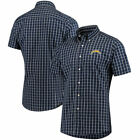 Los Angeles Chargers Antigua Endorse Woven Short Sleeve Button-Down Shirt - $52.99 USD on eBay