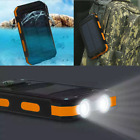 Solar Charger Power Bank 300000mAh Portable Dual USB Battery Charger