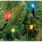 Christmas LED Static Multicolour String Lights Xmas Decoration Outdoor Indoor