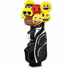 Official Emoji Novelty Golf Head Cover - Driver Woods Plush Gift