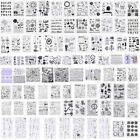 Внешний вид - Silicone Clear Stamp Transparent Rubber Stamps DIY Scrapbook Christmas Alphabet