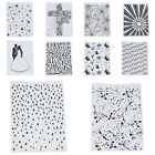 Внешний вид - Plastic Embossing Folders Template DIY Embossing Scrapbooking Paper Card Craft