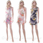 Floral Wiggle Stretch Dress Size S/M Ladies Summer SHE LIKES Party Frock