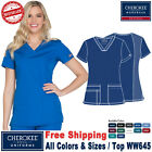 Внешний вид - Cherokee Scrubs ORIGINAL Medical Uniform Workwear Modern Fit V-Neck Top(WW645)