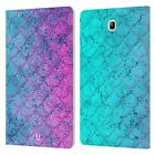 HEAD CASE DESIGNS MERMAID SCALES LEATHER BOOK CASE FOR SAMSUNG GALAXY TABLETS