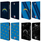 NFL 2017/18 LOS ANGELES CHARGERS LEATHER BOOK CASE FOR SAMSUNG GALAXY TABLETS
