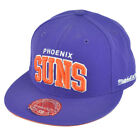 NBA Mitchell Ness TQ40 Phoenix Suns Arch Flat Bill Fitted Hat Cap on eBay