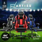 Artiss Gaming Chair Office Computer Leather Chairs Racer Executive Racing Seat