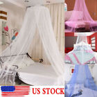 Mosquito Net Round Dome Lace Curtain Insect Bed Canopy Netting Princess Princess image