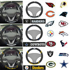 New NFL Pick Your Teams Car Truck SUVs Van Embroidered Steering Wheel Cover $16.19 USD on eBay