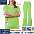 Cherokee Scrub Set Originals Women's Medical Classic V-Neck
