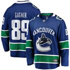 Sam Gagner Vancouver Canucks Fanatics Branded Breakaway Player Jersey Blue