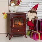 750/1500W Electric Fireplace Freestanding Fire Flame Stove Heater Adjustable