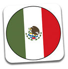 World Cup 2018 Football Shirt & Flag Themed Drink Beer Coasters - Team Mexico