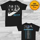 Billy Joel t Shirt Tour dates 2019 T-Shirt size Men Black Gildan 2 side concert image
