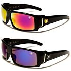 KHAN Sport Driving Fishing Golf Wrap Black Men's Sunglasses UV400 New KH7005