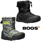 Bogs Wellington Boots Baby BMOC Space Waterproof Insulated Fur -20c Boys 72276