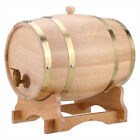 New Wood Oak Timber Wine Barrel For Beer Whiskey Rum Port Wooden Keg with Stand