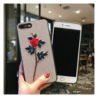 For iPhone Xs 7 8 Plus  Bling Glitter Cute Phone Case Protective Cover for Girls