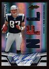 ROB GRONKOWSKI /299 ROOKIE AUTO TRIPLE JERSEY PATCH BALL RPM RC SP 2010 ABSOLUTE