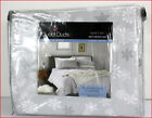 Cuddl Duds Heavy Weight 100% Cotton FLANNEL Sheet Set - Gray SNOWFLAKES 🌟NEW🌟 image