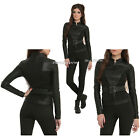 Marvel Her Universe Avengers Black Widow Logo Cosplay Jacket Hot Topic L-XL NEW