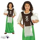 Girls Childs Nativity Inn Keeper Long Christmas Xmas Fancy Dress Costume Outfit