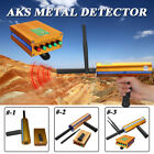 AKS 3D Handhold Metal Detector Long Range Gold Digger Treasure Hunter Scanner