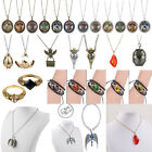 Movie Harry Potter Snitch Ball Deathly Hallows Necklace Pendant Cosplay Jewelry