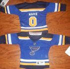 St. Louis Blues Infant  NHL Hockey Jersey add  any name & number $39.99 USD on eBay
